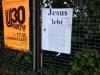 Jesus lebt - ist tot - burn in hell.