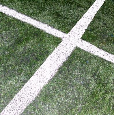 """""""Fußballkreuz"""". Quelle: Stephanie Hofschlaeger/pixelio.de"""
