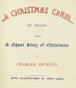 A Christmas Carol von Charles Dickens