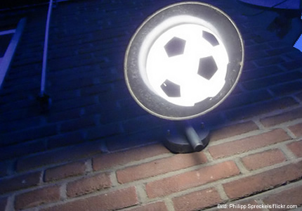 Fußball - Leuchter