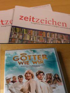 Zeitzeichen-Abo und Götter wie wir-DVD