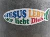 Jesus lebt - er liebt dich