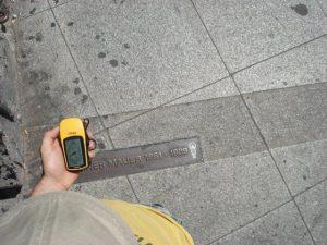 Unterwegs mit dem GPS-Gerät
